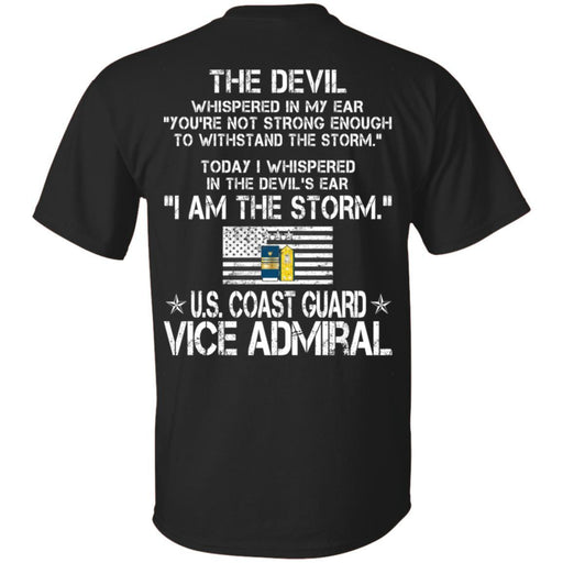 I Am The Storm - US Coast Guard Vice Admiral CustomCat