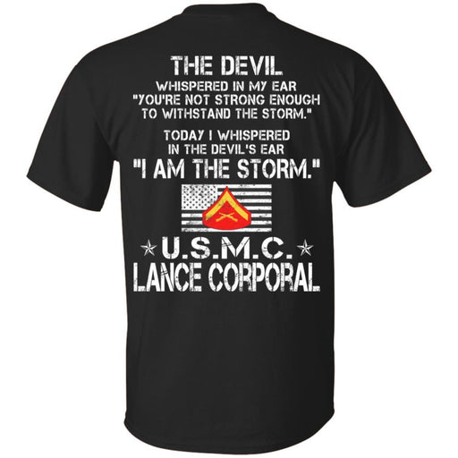 I Am The Storm - USMC Lance Corporal CustomCat