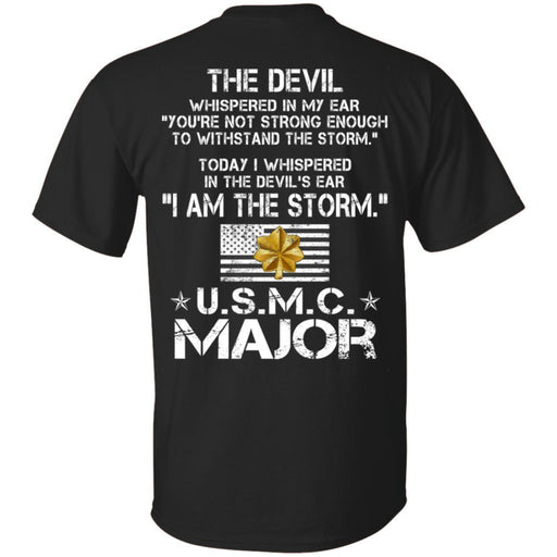 I Am The Storm - USMC Major CustomCat
