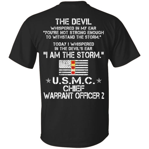 I Am The Storm - USMC Warrant Officer CustomCat