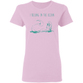 I Belong To the Ocean Mermaid T-shirt CustomCat