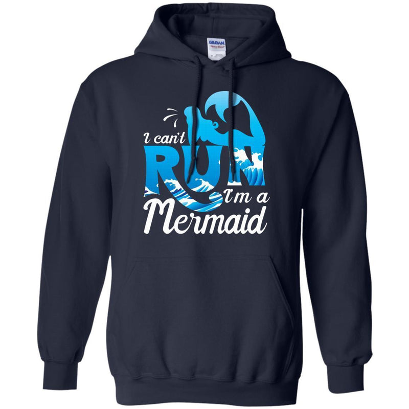 I Can't Run I'm A Mermaid Tshirt CustomCat