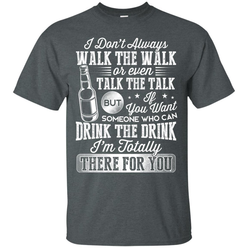 I Drink Beer Funny T-shirt For Beer Lovers CustomCat