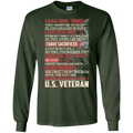 I Have Don't Things That Haunt Me At Nights Veteran T-shirt CustomCat