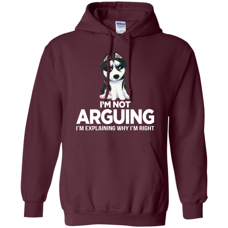 I'm Not Arguing I'm Explaining Why I'm Right Funny T-shirt For Dog Lovers CustomCat
