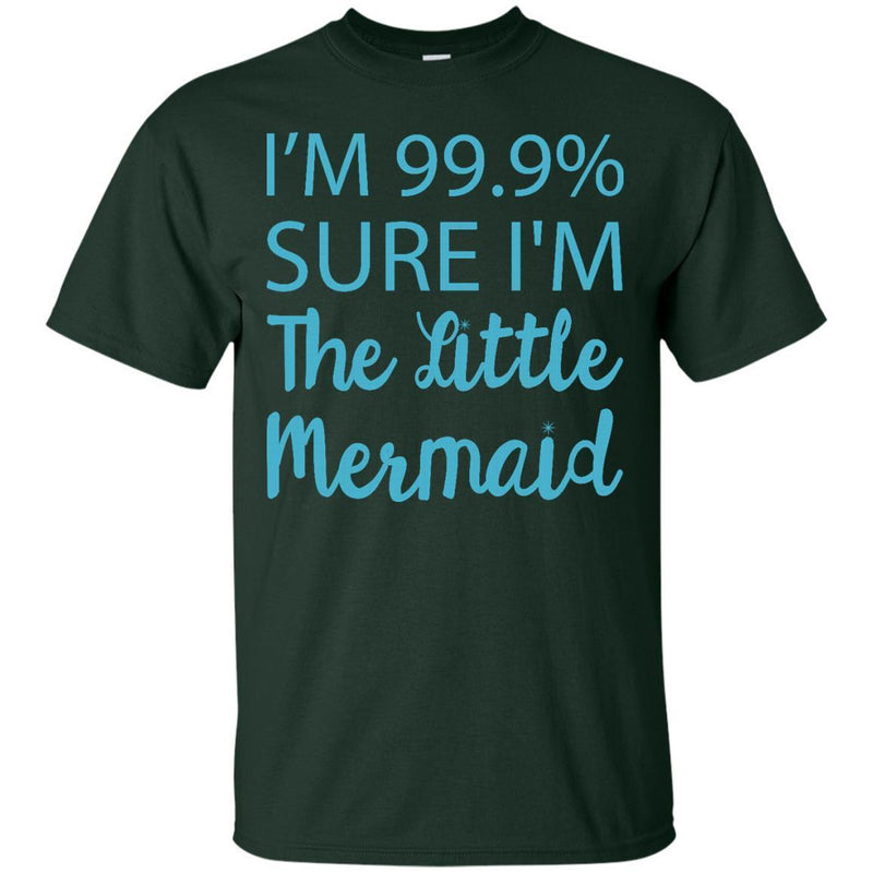 I'm Sure I'm A Mermaid Tshirt CustomCat