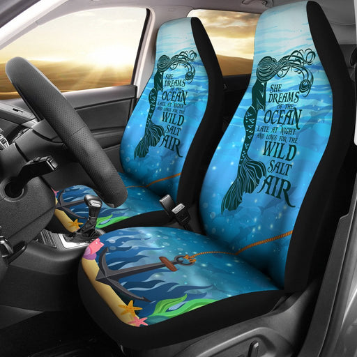 Inspirational Mermaid Dreams Car Seat Cover My Soul & Spirit