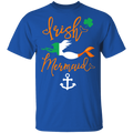 Irish Mermaid Funny Mermaid T-shirt CustomCat