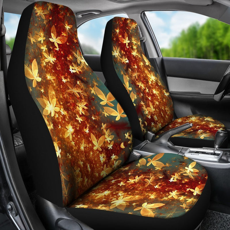 Light Butterfly Car Seat Covers (Set of 2) interestprint