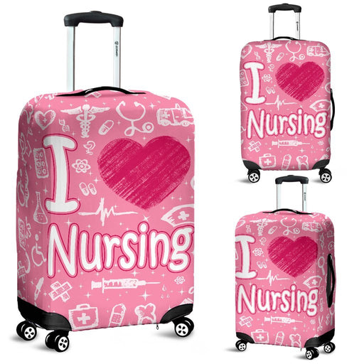 Lovely Nursing Luggage Covers My Soul & Spirit
