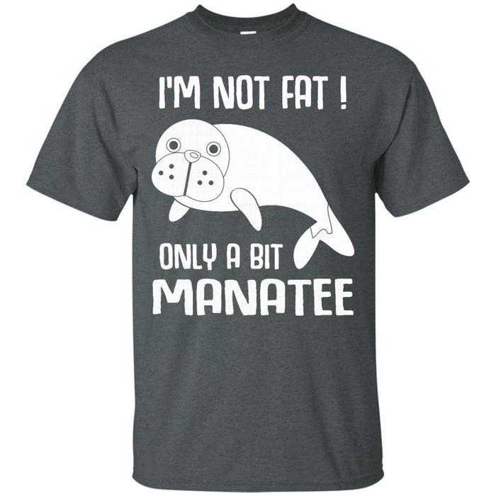 Manatee Mermaid Tshirt CustomCat