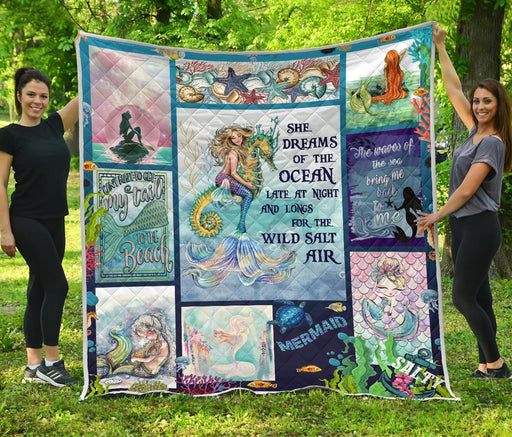 Mermaid Quilt 3 My Soul and Spirit