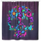 Mermaid Shower Curtains Mermaid And Her Friends Make A Skull For Mexico Holiday For Bathroom Decor