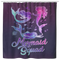 Mermaid Shower Curtains Mermaid Squad With Blue Purple Hair Colors For Bathroom Decor