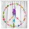 Mermaid Shower Curtains Peace Shape Is A Combination Of Mermaid And Her Ocean Friends For Bathroom Decor
