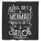 Mermaid Shower Curtains Soul Of A Mermaid Mouth Of A Sailor For Bathroom Decor