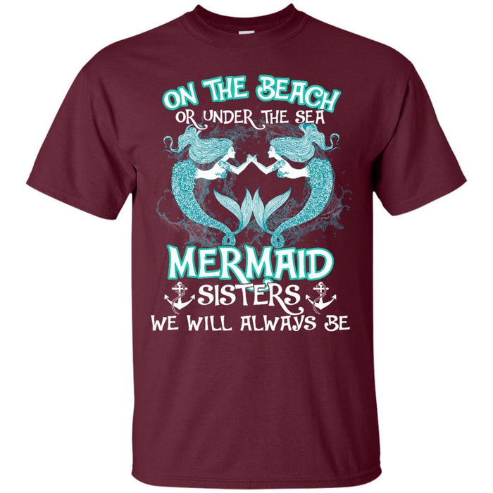 Mermaid Sisters T-shirt & Hoodie CustomCat