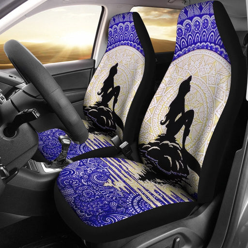 Mermaid Sitting On Madala Car Seat Covers (Set Of 2) My Soul & Spirit
