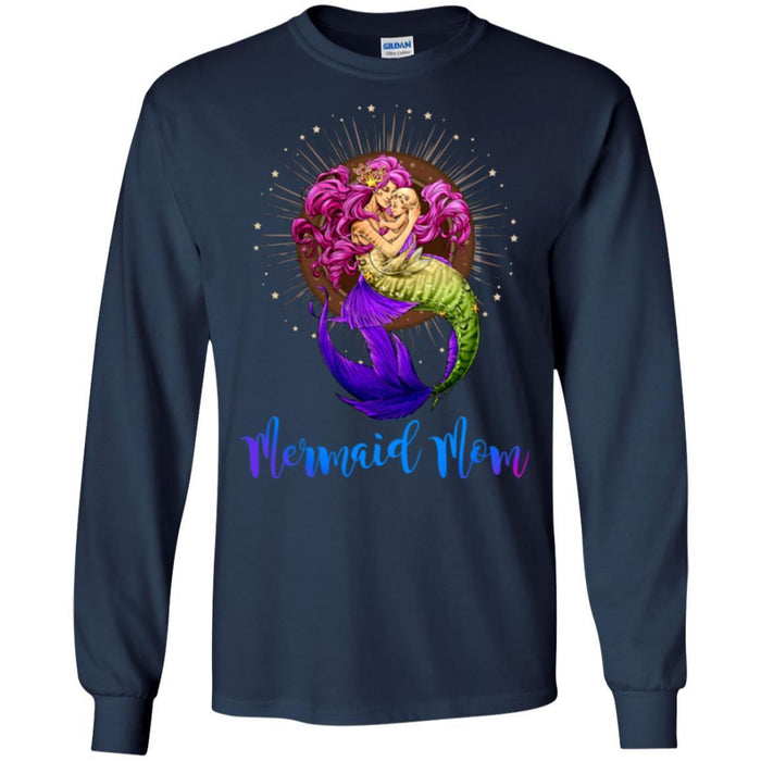 b1f4ea77 Mermaid T-Shirt Mermaid Mom And Her Little Mermaid For Mother Day Gift Tee  Gifts
