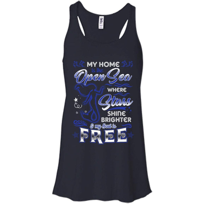 My Home Is The Open Sea T-shirt & Hoodie For Mermaids CustomCat