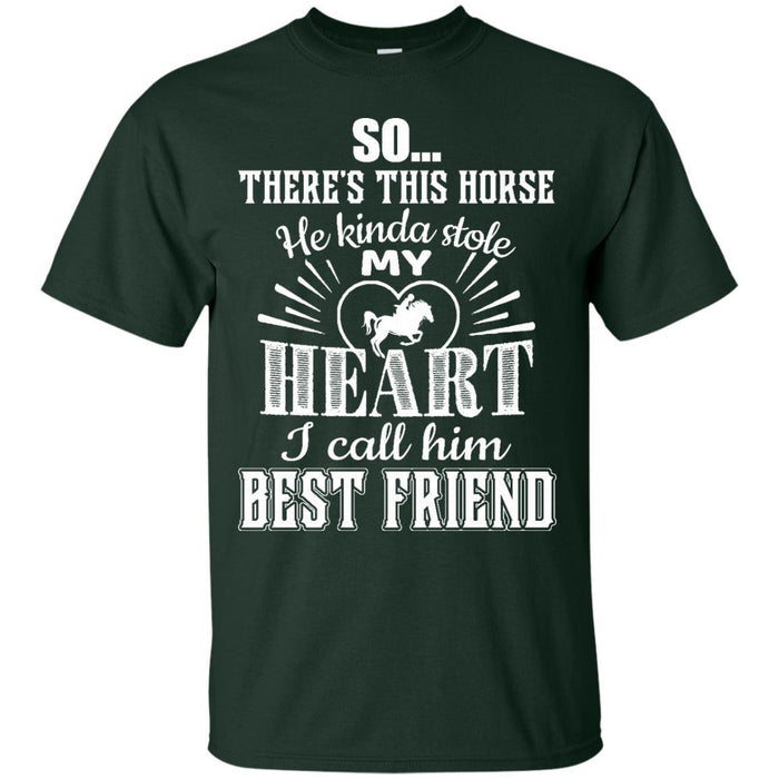 My Horse Is My Best Friend T-shirt CustomCat