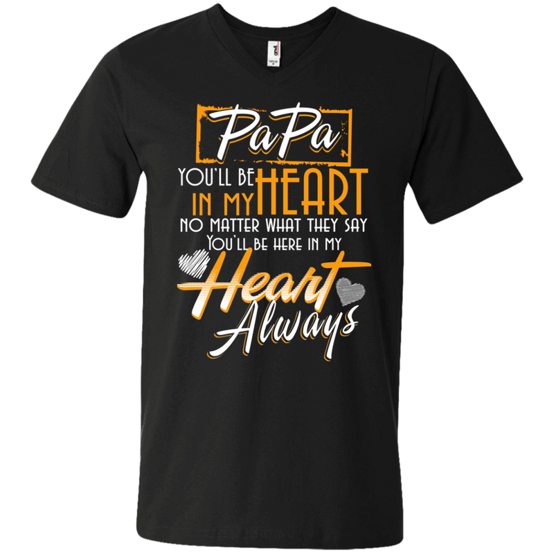 my papa always in my heart my guardian angel t-shirts CustomCat