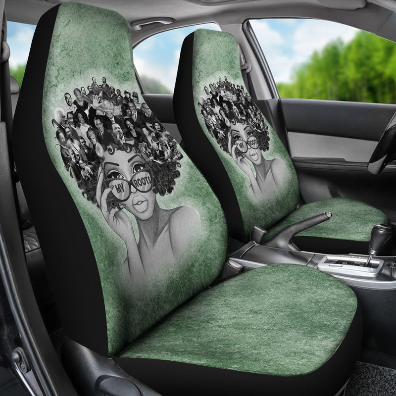 My Root Car Seat Covers (Set Of 2) interestprint