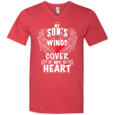 my son's wings cover my heart CustomCat