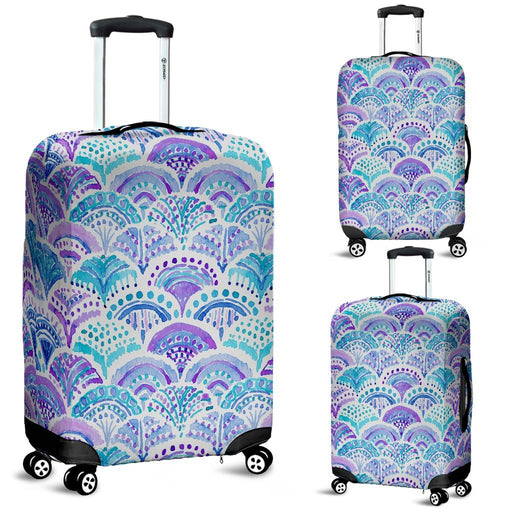 Mystical Mermaid Shell Luggage Covers My Soul & Spirit