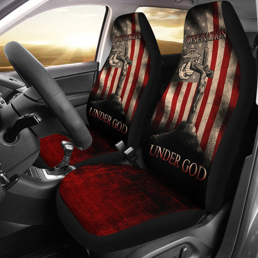 One Nation Under Got Car Seat Cover (Set Of 2) My Soul & Spirit