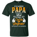 Papa Funny T-shirt CustomCat