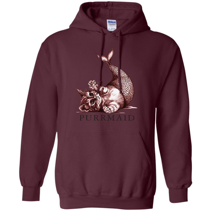 Purrmaid T-shirt & Hoodie For Mermaids CustomCat