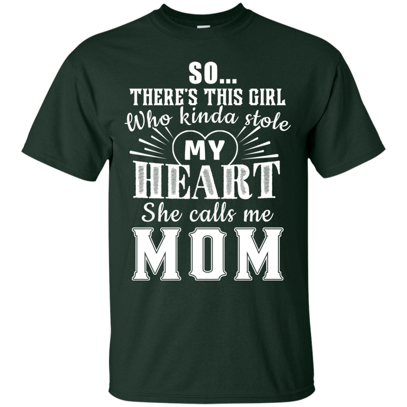 She calls me Mom tshirt CustomCat