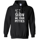 Show Me Your Pitties T-shirt For Pit Bull Lovers CustomCat