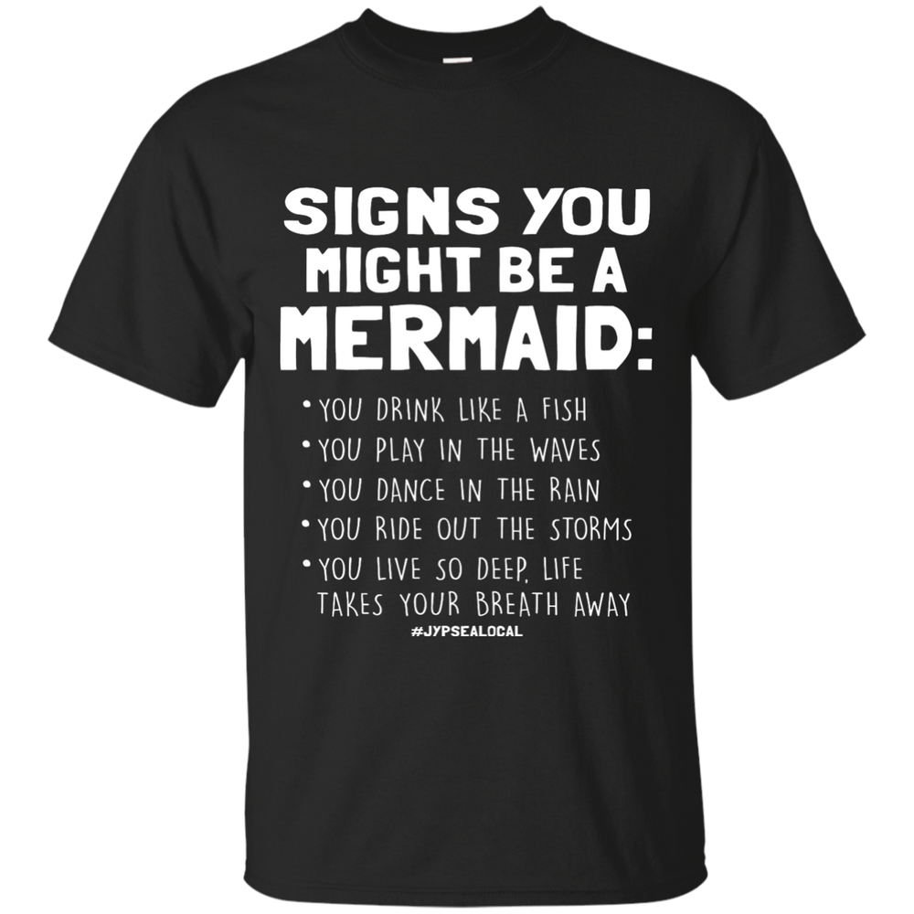 Signs You Might Be a Mermaid CustomCat