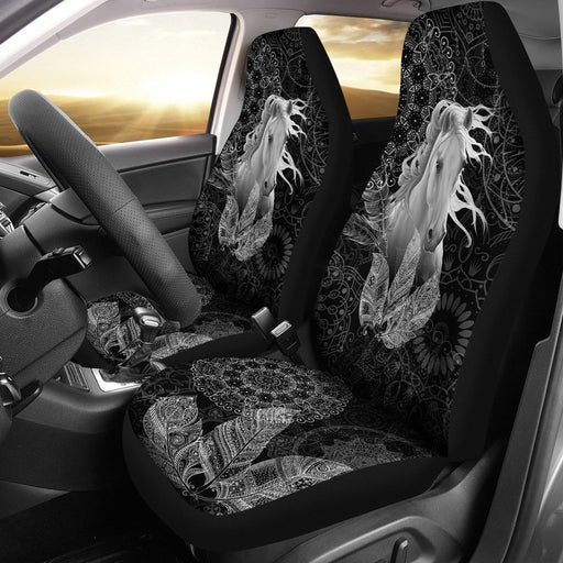 Spirit Of Horse Native American Car Seat Covers (Set Of 2) My Soul & Spirit