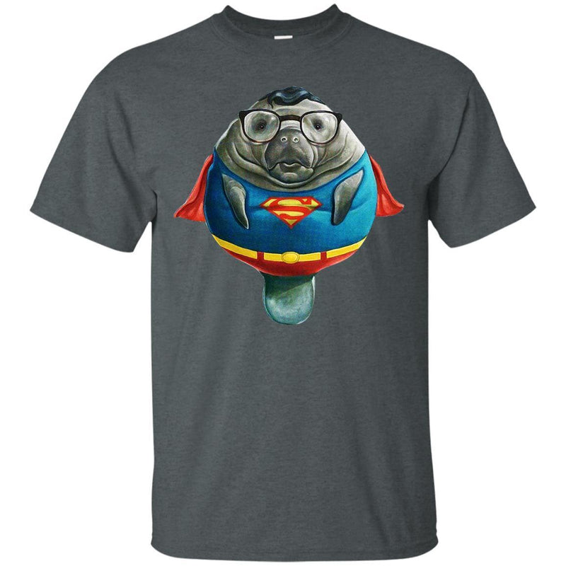 Super Manatee Tshirt CustomCat