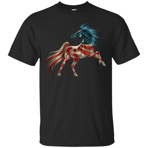 T-shirt for Horse Lovers Horse America CustomCat