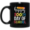 Teacher Coffee Mug Happy 100th Day Of School Funny Gift Teacher 11oz - 15oz Black Mug