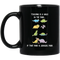 Teacher Coffee Mug Teacher Is A Walk In The Park If That Park is Jurassic Park 11oz - 15oz Black Mug
