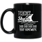 Teacher Coffee Mug Teacher Shark Doo Doo Doo Your Homework 11oz - 15oz Black Mug