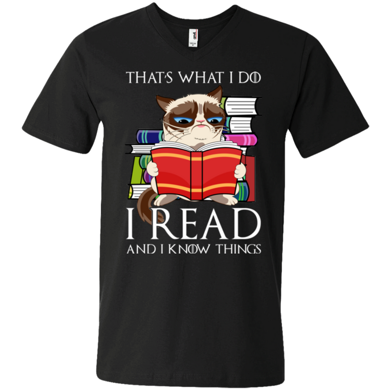 That's what i do i read and i know things T-shirts CustomCat