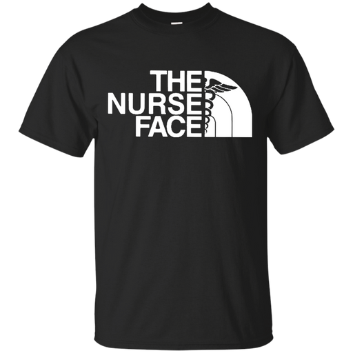 The Nurse Face Tshirts CustomCat