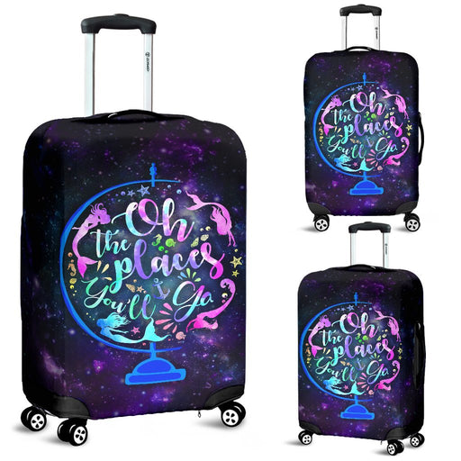 The Place Mermaid Will Go Luggage Covers My Soul & Spirit