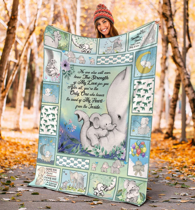 The Sound Of My Heart From The Inside Elephant Family Blanket My Soul And Spirit