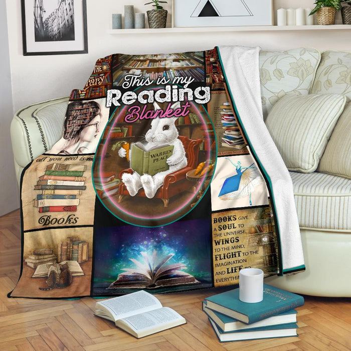 This Is My Reading Blanket For Books Lover My Soul And Spirit