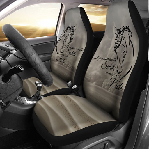 Unique Design Of Horse Saying For Car Seat My Soul & Spirit