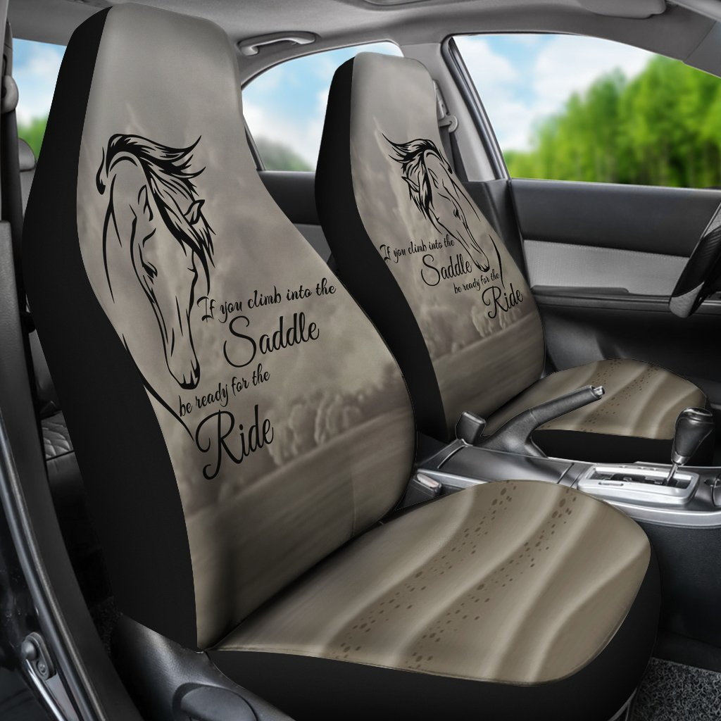 Unique Design Of Horse Saying For Car Seat Cover My Soul Spirit
