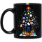 Unique Design Police Thing Shaped as Christmas Tree Printed on Mug CustomCat