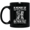 Usmc Veteran Coffee Mug In Memory Of Those Believe It Was Better To Die On Their Feet 11oz - 15oz Black Mug
